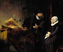 Rembrandt, Anslo und Frau von AKG  Images