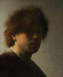 Rembrandt / Selbstbildnis in jungen Jahren von AKG  Images