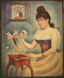 Georges Seurat, Woman powdering herself by AKG  Images