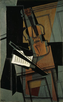 The Violin / J. Gris / Painting 1916 by AKG  Images