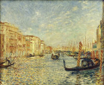 Auguste Renoir, Grand Canal in Venice. by AKG  Images