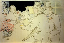 H. de Toulouse-Lautrec, Irish American Bar von AKG  Images