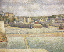 Georges Seurat, Port-en-Bessin / Painting / 1888 by AKG  Images