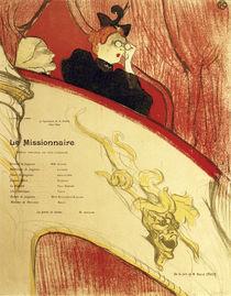 Toulouse-Lautrec, La loge au mascron... by AKG  Images