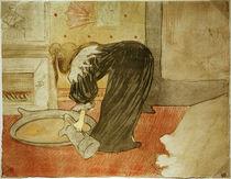 Toulouse-Lautrec, Femme au tub von AKG  Images