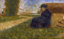 G.Seurat, Massive Figure / Painting / 1882 by AKG  Images