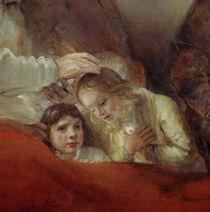 Rembrandt, Jakobs Segen (Ausschnitt) von AKG  Images