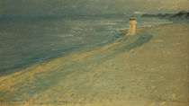 Kröyer / Summer evening at beach / 1893 by AKG  Images