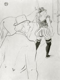 Toulouse-Lautrec / Hinter den Kulissen1899 von AKG  Images