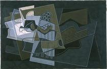 Juan Gris, Gitarre und Flasche/ 1921 von AKG  Images