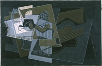 Juan Gris, Gitarre und Flasche/ 1921 by AKG  Images