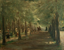 "M.Liebermann, ""Avenue in the Tiergarten with riders and walkers"" / painting by AKG  Images"