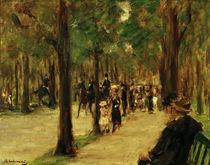 Max Liebermann, Promenade im Tiergarten von AKG  Images