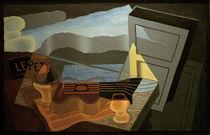 Juan Gris, Blick auf die Bucht/ 1921 von AKG  Images