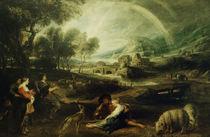 P.P.Rubens / Landschaft mit Regenbogen von AKG  Images
