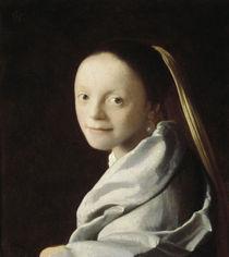 Vermeer / Mädchenkopf (New York) von AKG  Images