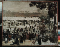 Renoir / Ice skaters / 1868 by AKG  Images
