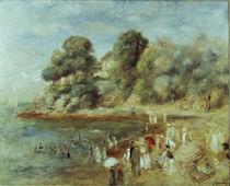 Auguste Renoir, Strand bei Pornic von AKG  Images