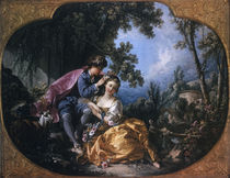 Boucher, Spring / 1755 by AKG  Images