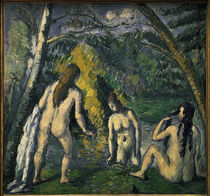 Cezanne / Three Bathers / 1879–82 by AKG  Images