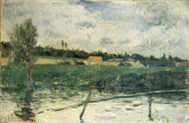 Landscape in Brittany / P. Gauguin / 1879 by AKG  Images