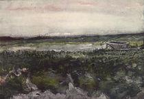 Van Gogh / Heide mit Schubkarren/1886 von AKG  Images