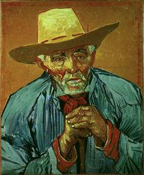 Van Gogh / Portrait of Patience Escalier by AKG  Images