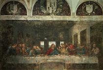 The Last Supper / da Vinci / 1495–97 by AKG  Images