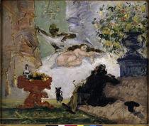 P.Cézanne, Eine moderne Olympia von AKG  Images