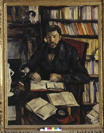 Gustave Geffroy / Gem. v. P.Cézanne von AKG  Images