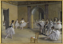 E.Degas / Ballet room at Opera Peletier by AKG  Images