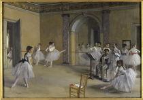 E.Degas, Ballettsaal der Oper Peletier von AKG  Images