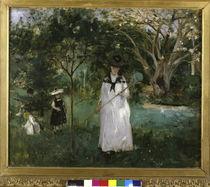 Morisot / La chasse aux papillons / 1874 by AKG  Images
