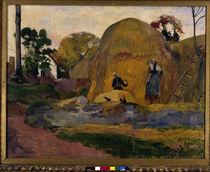 P.Gauguin, Les meules jaunes / 1889 by AKG  Images