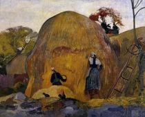 P.Gauguin / Les meules jaunes / 1889 by AKG  Images