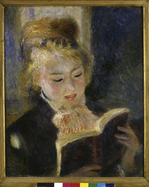 Reading Girl / Renoir / 1874/76 by AKG  Images