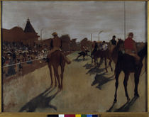 Degas, Le Defile c. 1866/68. by AKG  Images