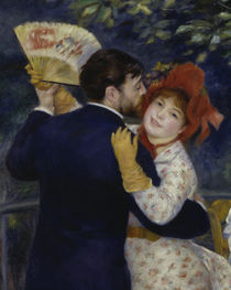 A.Renoir / Country dance / 1883 / Detail by AKG  Images