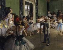 E.Degas, La classe de danse /1873–76/Det by AKG  Images