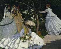 C.Monet / Women in garden / 1867 / Detail by AKG  Images