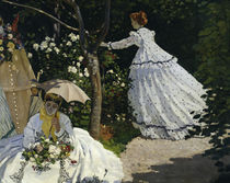 C.Monet, Frauen im Garten / 1867 / Detail von AKG  Images