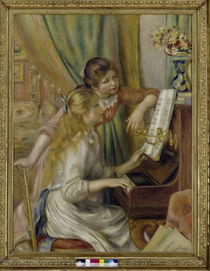 Renoir / Two girls at the piano / 1892 by AKG  Images