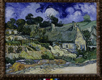 Van Gogh / Houses in Cordeville / 1890 by AKG  Images