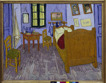 Van Gogh / Bedroom in Arles / 1889. by AKG  Images