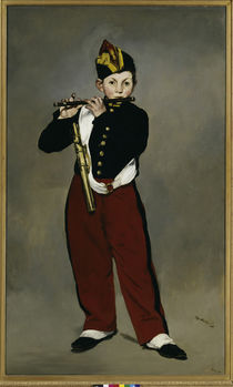 Manet / Der Pfeifer/ 1866 von AKG  Images