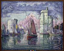 P.Signac, Hafen von La Rochelle von AKG  Images