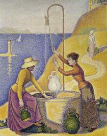 P.Signac, Frauen am Brunnen / Ausschnitt von AKG  Images