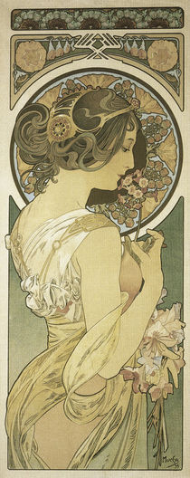 A.Mucha, Cowslip by AKG  Images