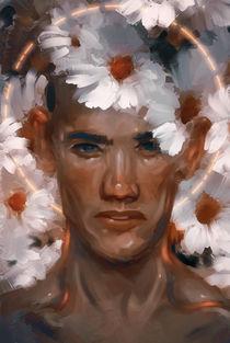 Archangel Uriel by Damir Martic