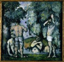 P.Cézanne, Fünf Badende (1875/77) von AKG  Images